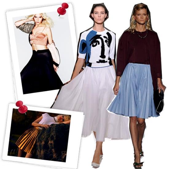 Pleated Skirts Under $100
