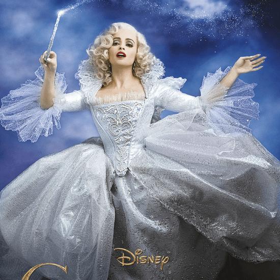 Helena Bonham Carter as Cinderella's Fairy Godmother Poster