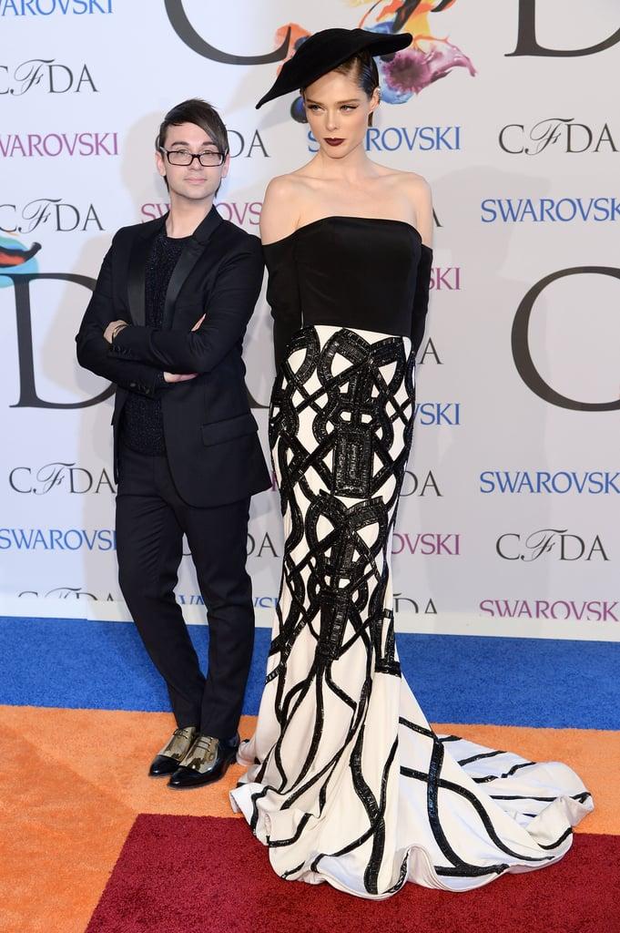 Coco Rocha at the 2014 CFDA Awards