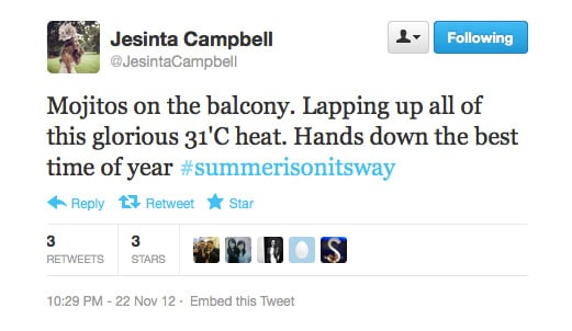 Sounds perfectly delicious, Jesinta!