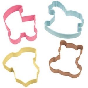 Baby Theme Cookie Cutter Set