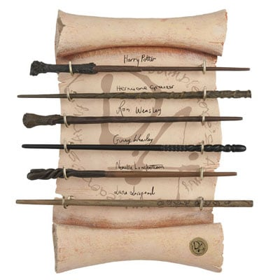 Harry Potter Dumbledore's Army Wand Collection ($150)