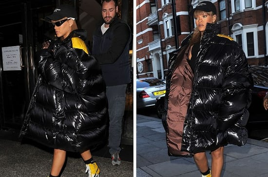 Rihanna Wore A Plastic Bag-Looking Outfit And Remained Glamorous As Fuck