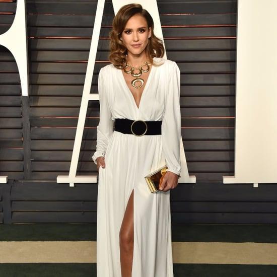 Jessica Alba Dress at Oscars Vanity Fair Party 2016