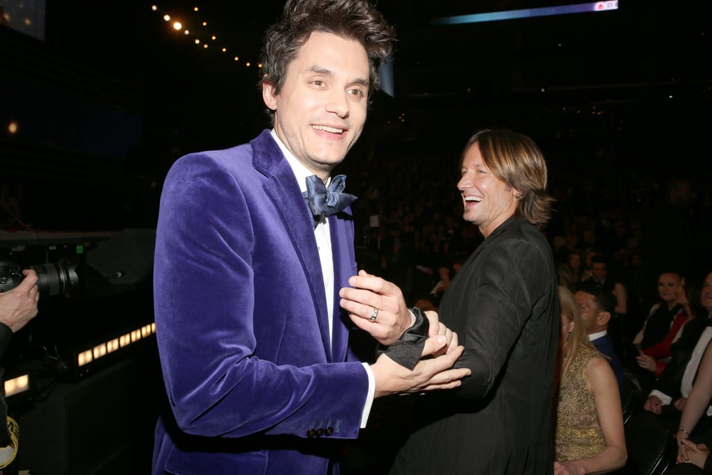 John Mayer shared a laugh with Keith Urban.