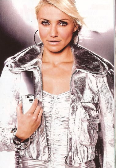 Cameron Diaz Goes Monochromatic For SoftBank Mobile
