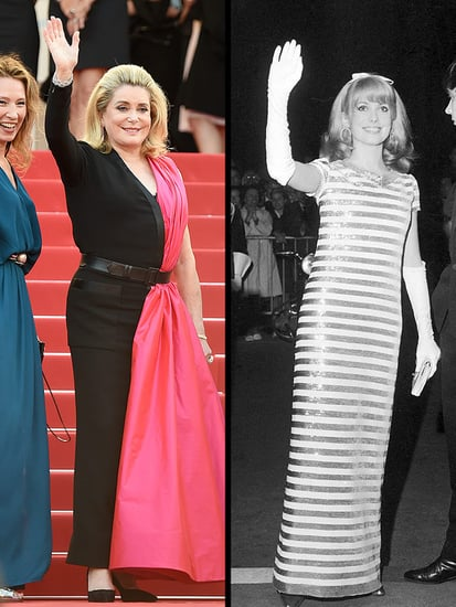 Then and Wow! French Actress Catherine Deneuve Stuns on Cannes Carpet More Than 50 Years After Her First Festival