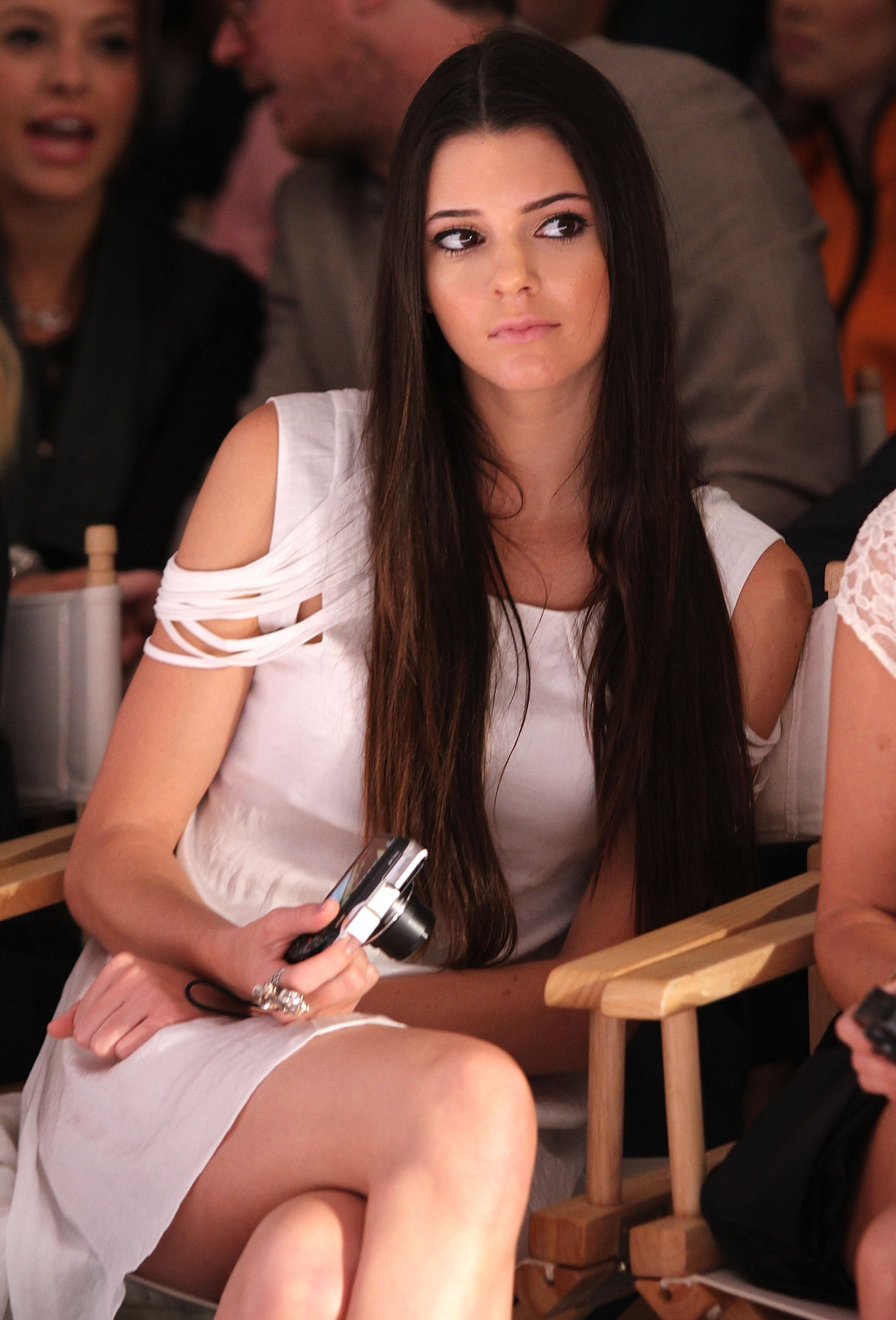 And then she sat front row at New York Fashion Week in 2012.