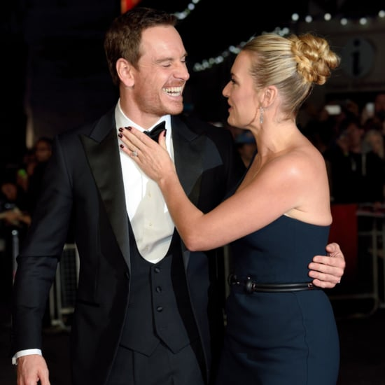 Kate Winslet Michael Fassbender Steve Jobs London Red Carpet