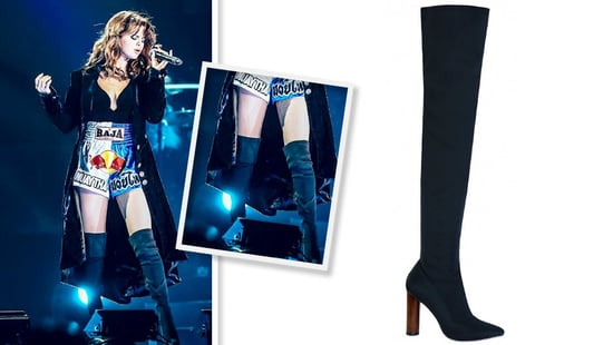 Make Selena Gomez's $46 Thigh-High Boots Your First Fall Purchase