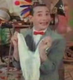 Look Kids, It's Pee Wee's Giant Underpants!