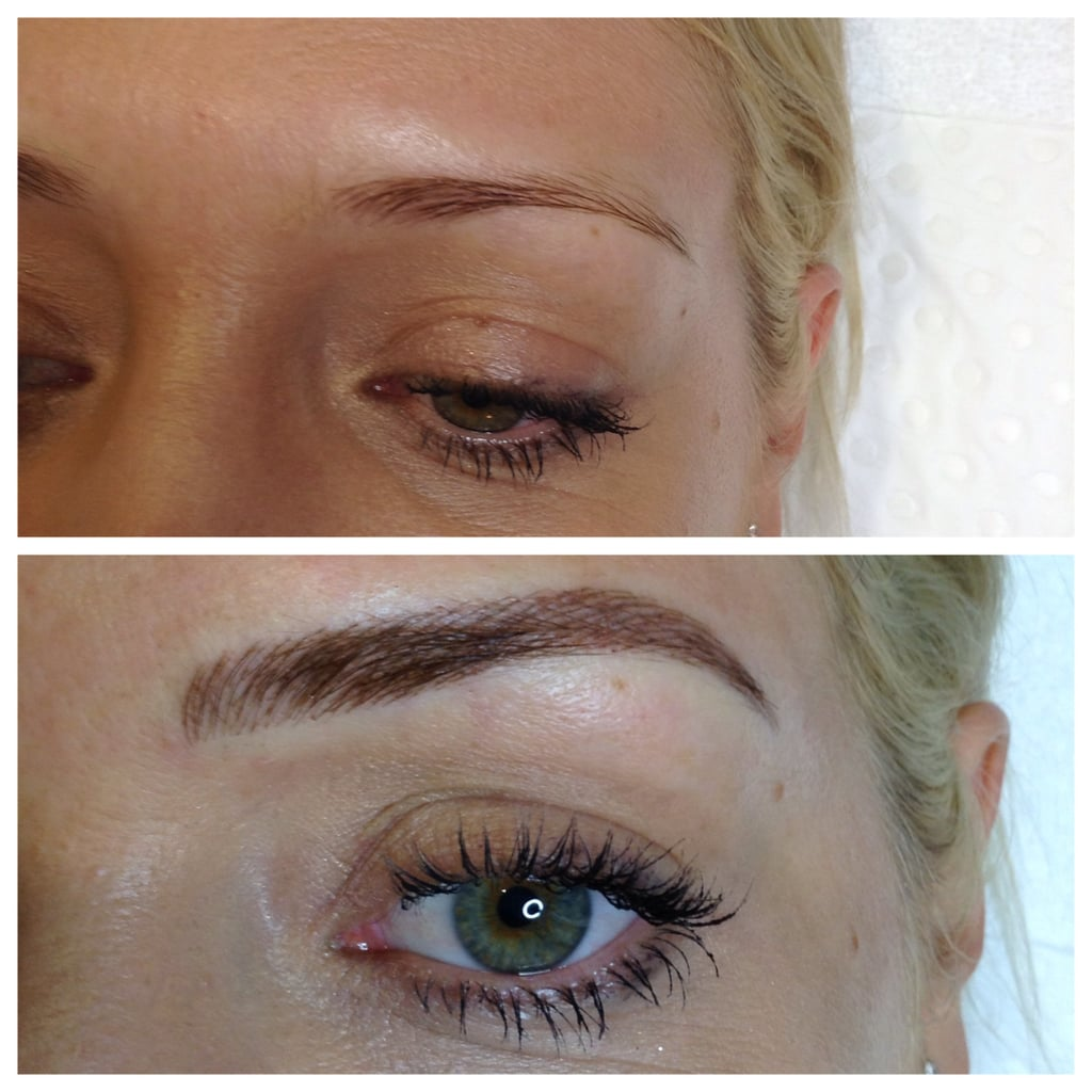 Things to know about feather touch eyebrow tattoos for Natural eyebrow tattoo