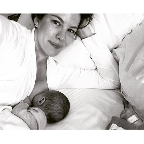 Liv Tyler's Breastfeeding Selfie Captures Parenthood's Simple Moments