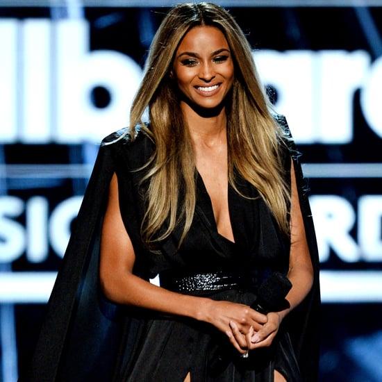Ciara Michael Costello Dress at Billboard Music Awards 2016