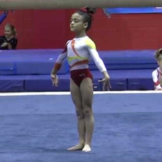 Laurie Hernandez Gymnastics Routine Throwback Video