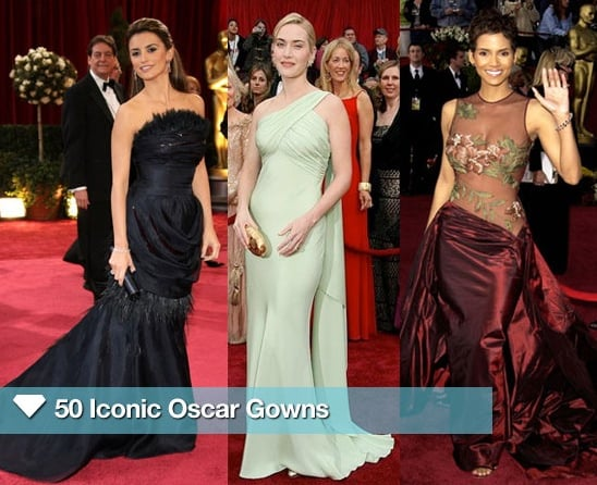 Sugar Shout Out: 50 Iconic Oscar Gowns