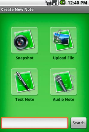 Daily Tech: Evernote Launches App For Android Handsets