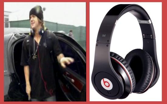 DWTS Participant Louie Vito Rocks Dr. Dre Headphones