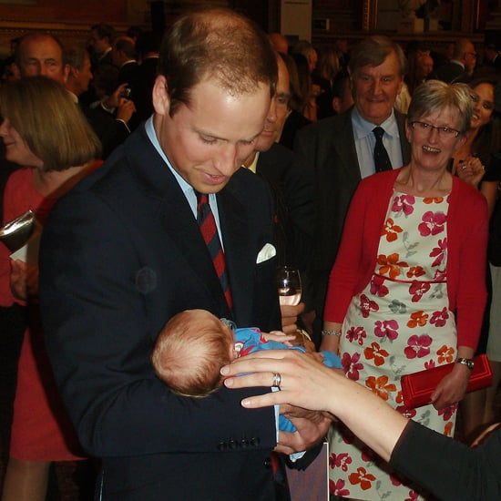 Prince William Kate Middleton With Baby at Amundsen Race (Video)