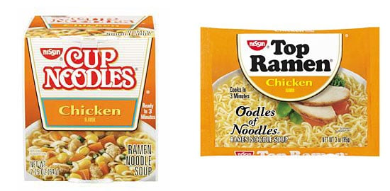 Would You Rather Eat a Cup Noodles or Top Ramen?