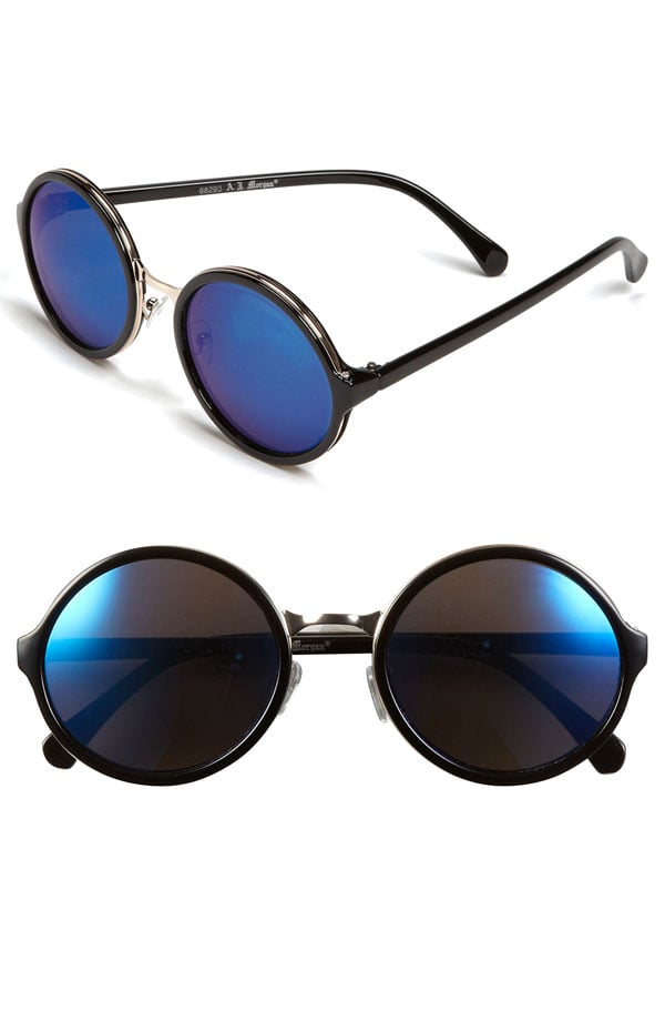 Do the mirrored trend with A.J. Morgan's black and blue shades ($24).