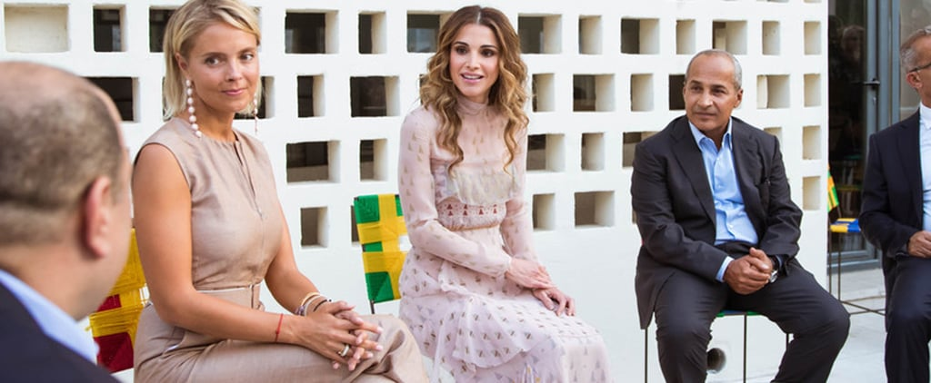Queen Rania's Dress Is Fit For Royalty, but It's Not Your Average Ballgown
