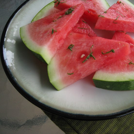 Watermelon With Honey, Mint, and Lime Recipe