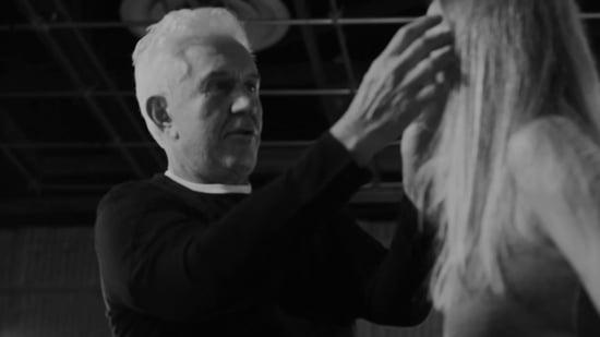 Umberto Savone Shares a Stylish Ponytail