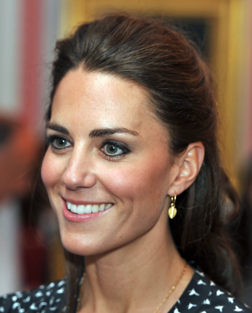Kate Middleton does her own makeup.