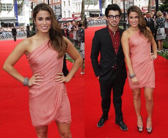 Nikki Reed and Joe Jonas at Eclipse London Premiere