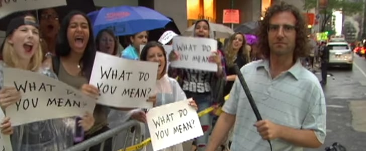 SNL's Kyle Mooney Interviewing Justin Bieber Fans Is the Most Awkward Thing You'll See All Week