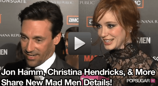 New Video of the Mad Men Premiere