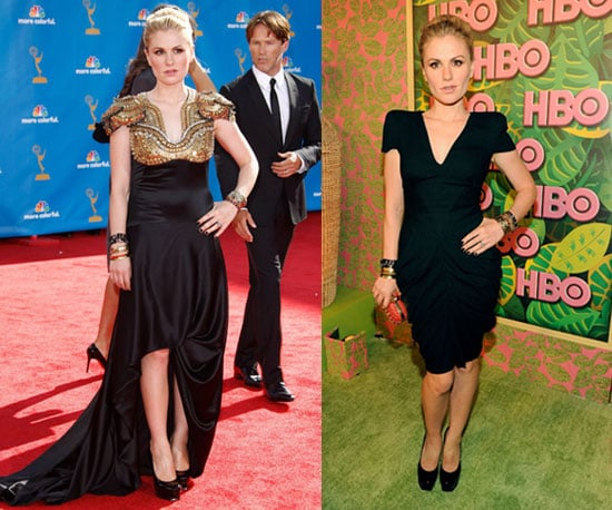 Anna Paquin's Dresses at the 2010 Emmy Awards