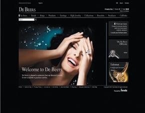 Fab Flash: De Beers Opening Online Boutique