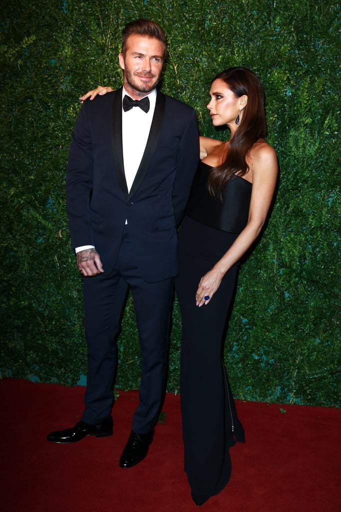 Victoria only had eyes for David as they attended the 60th London Evening Standard Theatre Awards in November 2014.