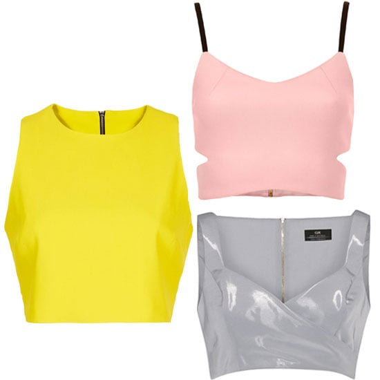Shop Five of the Best Structured Crop Tops