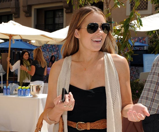 Slide Picture of Lauren Conrad at MTV Style Lounge