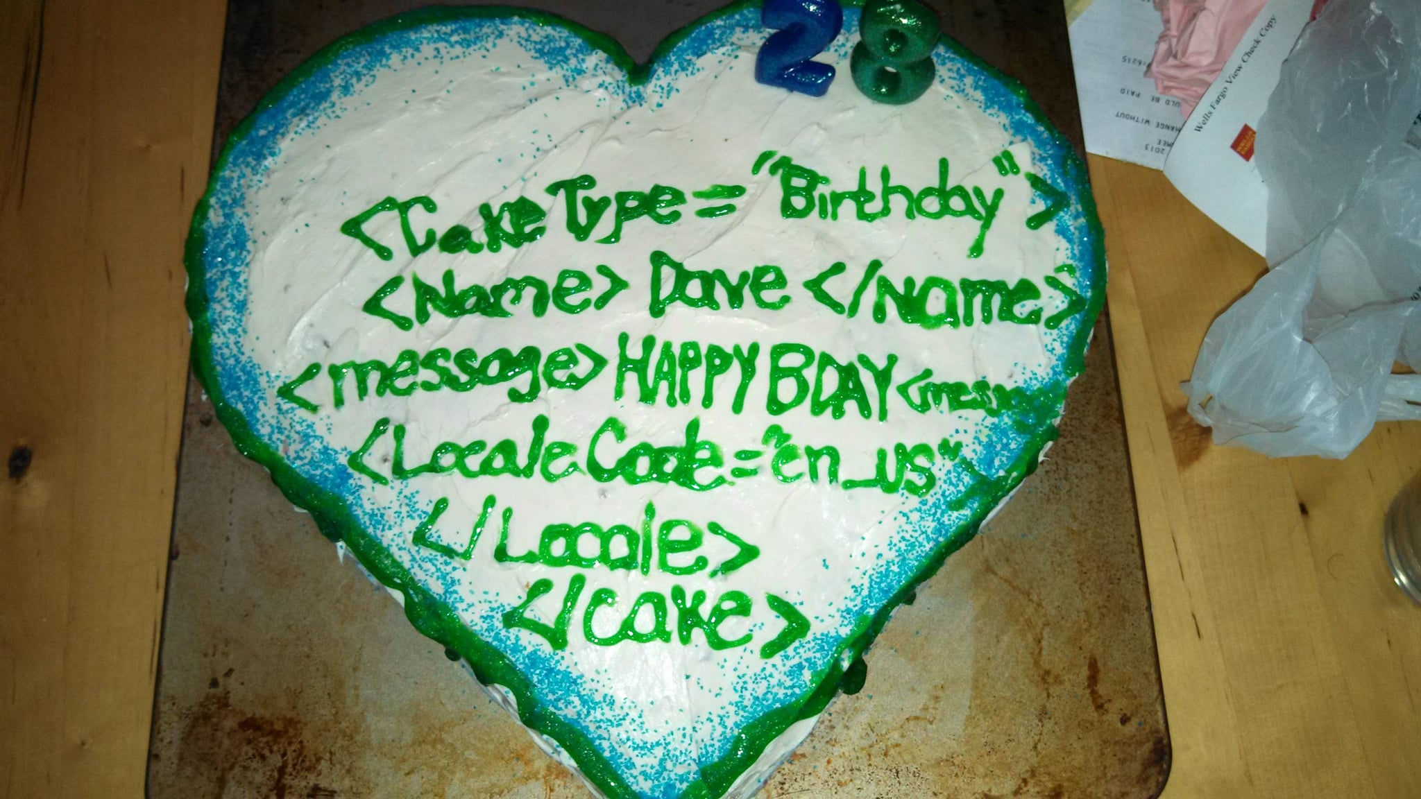 7. The Keeper Who Baked This Coding Cake