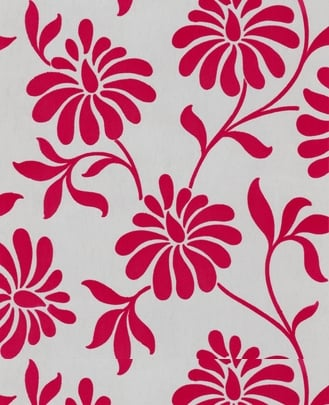 Ophelia Red Wallpaper ($108)
