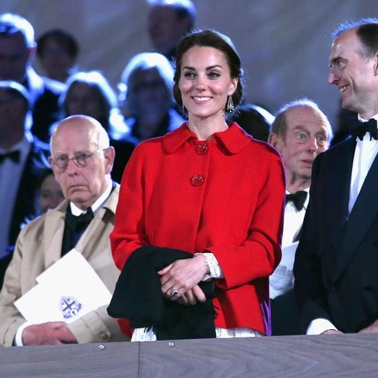 Kate Middleton's Red Zara Coat May 2016