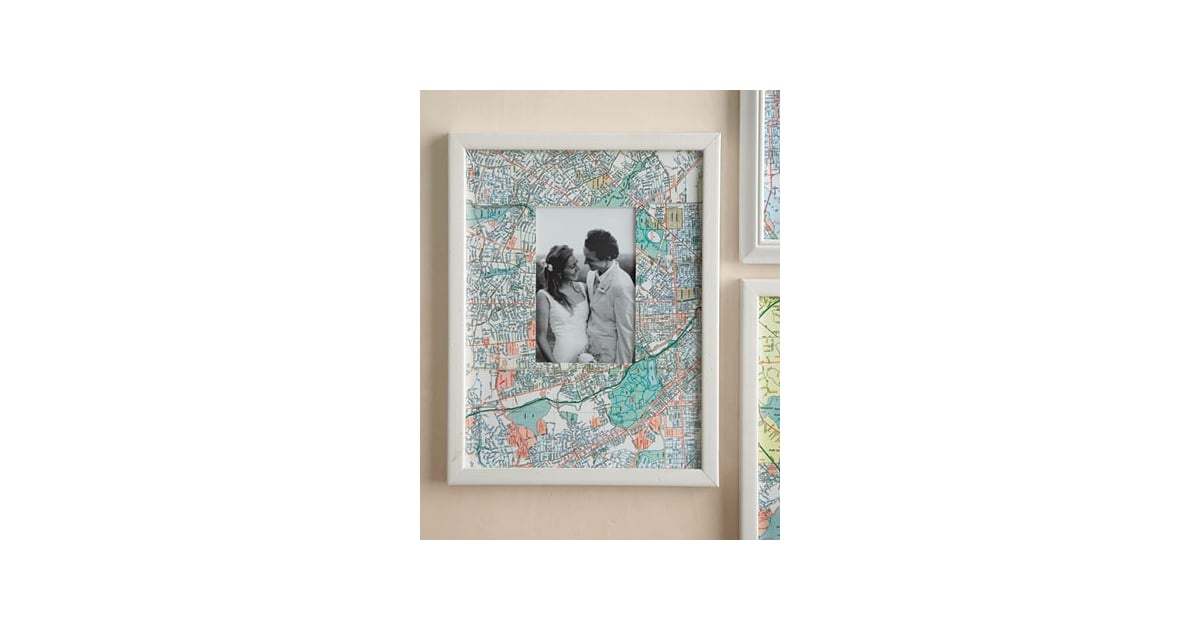 Photo Frame 14 Creative Ways To Reuse Old Maps