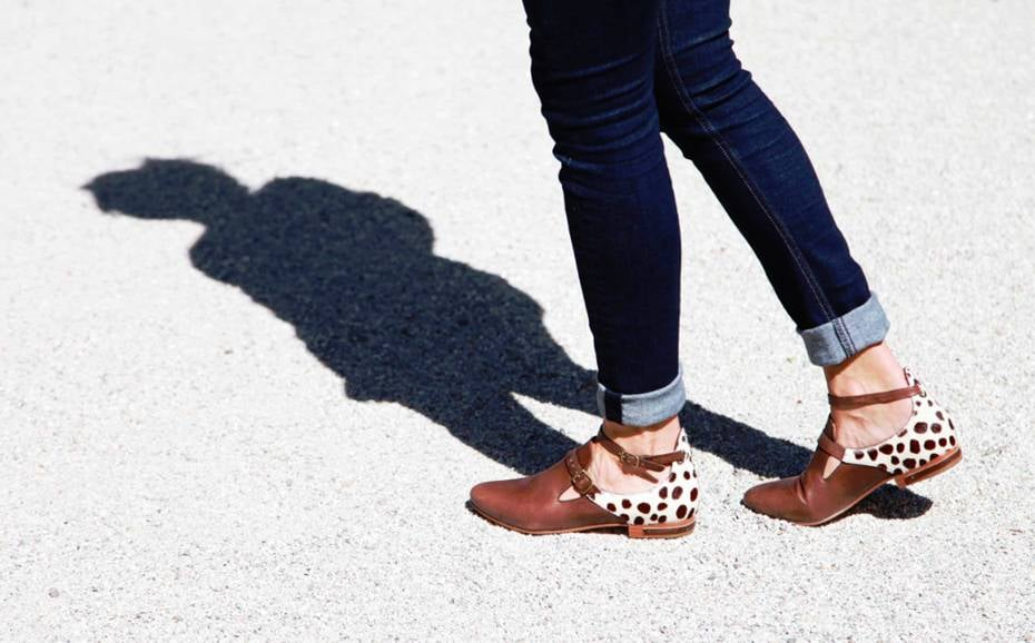 The Freda Be ($350) is a cross between a monk-strap loafer and a sweet ankle-strap flat.