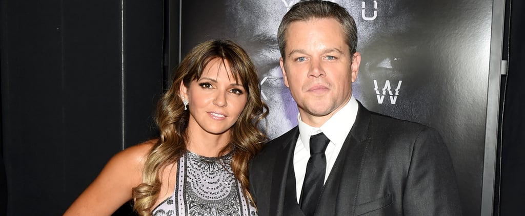 Matt Damon and Luciana Barroso Pop Up in Las Vegas After Returning Stateside From Europe