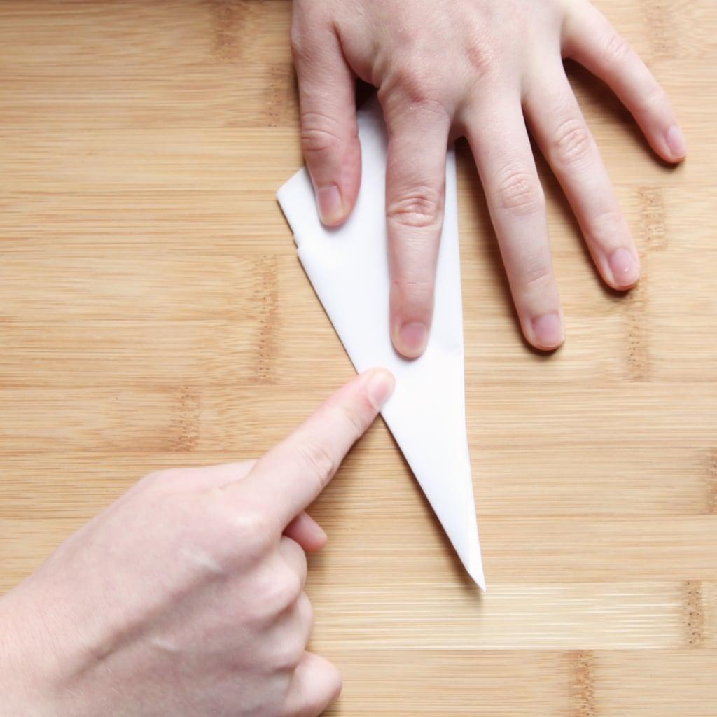 Fold Into a Smaller Triangle