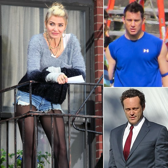 Cameron Diaz Makes Her First Appearance as Miss Hannigan