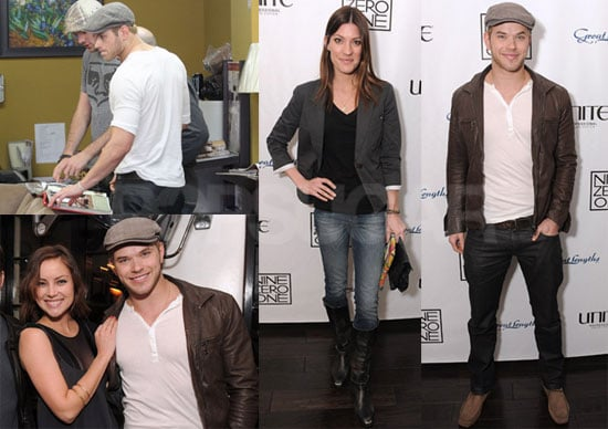 Photos of Kellan Lutz With Jennifer Carpenter, Jessica Stroup And Jamie-Lynn Sigler at The Grand Opening of Nine Zero One Salon