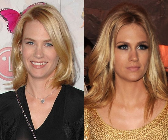Which length works better for January Jones?