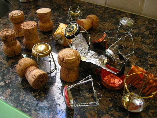 How to Pop a Champagne Cork!