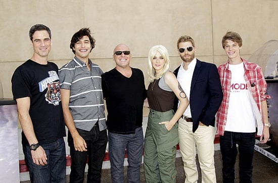 Comic-Con 2014 Photos: The Cast of 'Under the Dome' in Pedicabs and Rachelle Lefevre Goes Blonde