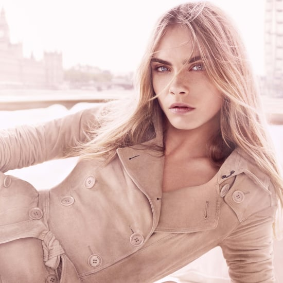 Cara Delevingne Burberry Body Tender Perfume Ad